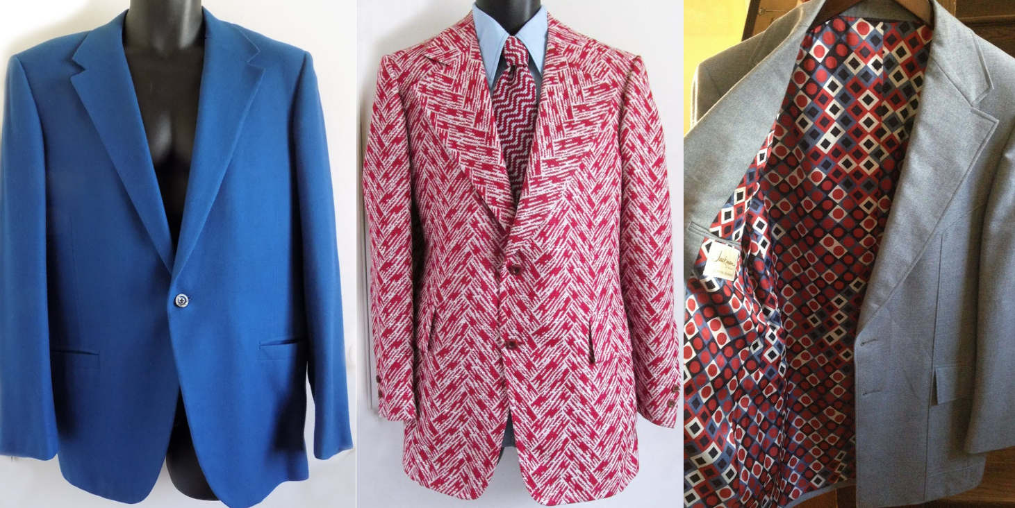 Luxury menswear brand Jackman. VTG